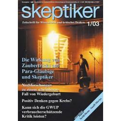 Skeptiker 1/2003
