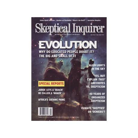 Skeptical Inquirer Abo. 6 Ausgaben pro Jahr. Bezugsdauer unbefristet. Formlose Kündigung jederzeit zum Jahresende möglich.